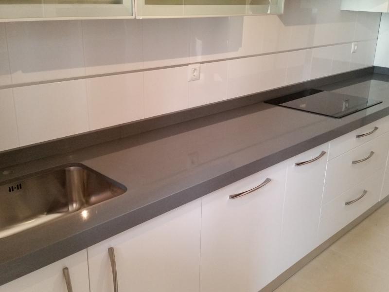 Encimera Silestone Steel (Serie Fernando Alonso)